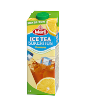 Marli Ice Tea 1L sokeriton lemon jääteejuoma