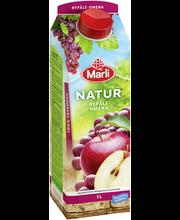 Marli Natur 1L  Rypäle-omenatäysmehu