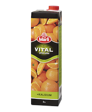 Marli Vital 1L Appelsiinimehu 100% + kalsium
