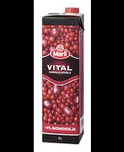 Marli Vital 1L Karpalo-rypälejuoma + flavonoideja