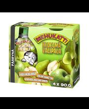 Mehukatti 4x90g päärynä hedelmävälipala