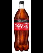 Coca-Cola Zero 150 cl kierrätysmuovipullo virvoitusjuoma