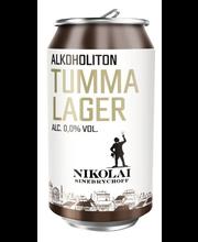 Nikolai Tumma alkoholiton olut 33 cl tölkki