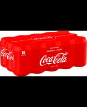 Coca-Cola 33 cl tlk 15pack virvoitusjuoma