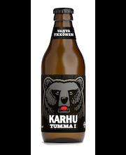 Karhu Tumma I 33cl lasiplo  2,8% olut