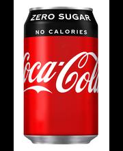 Coca-Cola Zero 33 cl tlk virvoitusjuoma