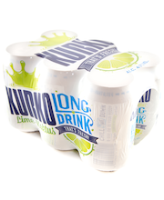 Kurko Lime-Kaktus 4,7% 33cl 6-pack tölkki long drink