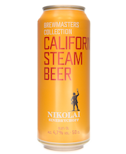 Nikolai Brewmasters Collection California Steam Beer 4,7% 50cl tölkki olut