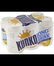 Kurko  Appelsiin-Ananas 4,7% 33 cl tölkki 6-pack long drink