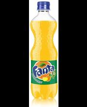 Fanta Ananas Twist 50 cl kierrätysmuovipullo virvoitusjuoma