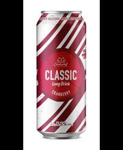 Classic Ld Cranberry 0,5L