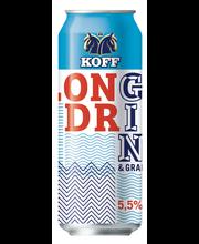 Koff Long Drink Greippi 5,5 % tölkki 0,50 L