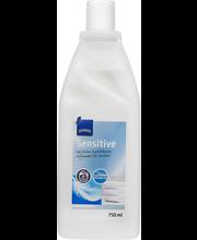 Sensitive tekstiilien huuhteluaine 750 ml