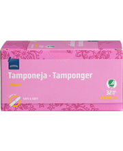 Rainbow Tamponi super 32 kpl