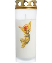 Hautakynttilä enkeli