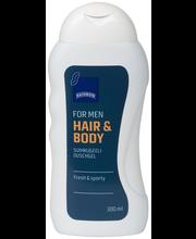 Rainbow For men hair & body suihkugeeli 300 ml