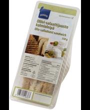 Oliivi-salaattijuusto kolmioleipä 150 g