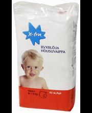 X-tra Housuvaippa maxi+ 8-13 kg, 42 kpl