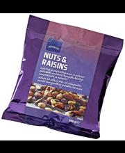 Rainbow Nuts & Raisins pähkinä-rusinasekoitus 200 g