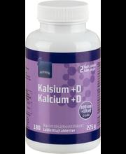 Kalsium- ja D-vitamiiniravintolisä