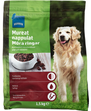Dog food semimoist beef
