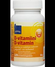 D-vitamiinilisä puruta...