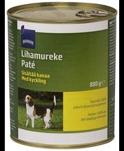 Rainbow Lihamureke koiralle, sisältää kanaa, 800 g