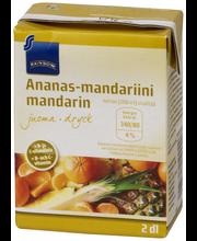 Rainbow Ananas-mandariinijuoma 2 dl