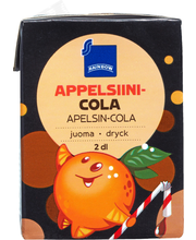 Rainbow Appelsiini-colajuoma 2 dl