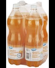 X-tra Appelsiini light virvoitusjuoma 4 x 1,5 l