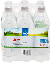 Vichy  0,5L 6-pack