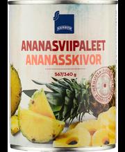 Rainbow Ananasviipaleet ananasmehussa 567/340 g