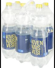 Kivennäisvesi Sitruuna 1,5L 6-pack