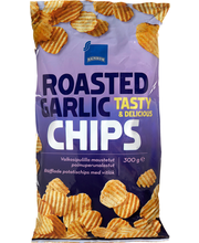 Roasted Garlic Chips