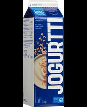 Kotimaista 1 kg Laktoositon maustamaton jogurtti