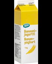 Banaanijogurtti 1 kg