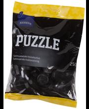 Rainbow Puzzle salmiakkilakritsisekoitus 250 g