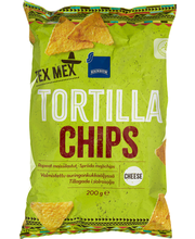 Rainbow Tex Mex Tortilla Chips cheese 200 g