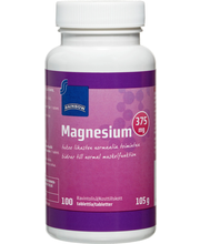 Rainbow 105g magnesium 375mg ravintolisä 100 tablettia