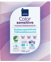 Sensitive color pyykinpesujauhetiiviste 750 g