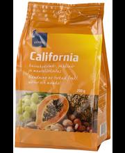 Rainbow California kuivahedelmä-, manteli- ja pähkinäsekoitus 200 g
