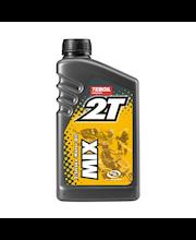Moottoripyöräöljy Teboil 2T Mix 1 l