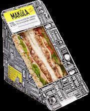Makula 210g Pulled Kalkkuna Bbq-Sandwich