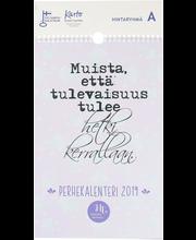 Kalent. 2019 hidastaelämä