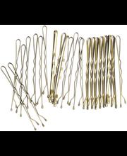 Cailap hiuspinni kulta 4,8 cm 24 kpl