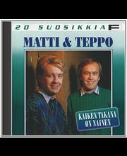 Matti Ja Teppo:20 Suosikk