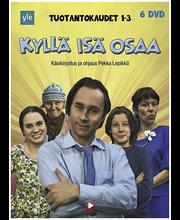 Dvd Kyllä Isä Osaa Box