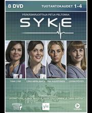 Dvd Syke 1-4 Kaudet