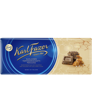 Karl Fazer 200g suolainen toffeekrokantti (16%) maitosuklaalevy