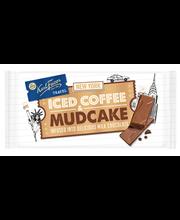 Karl Fazer Travel 130g Iced coffee and mudcake, kahvinmakuista maitosuklaata, jossa suklaakakun paloja (15%), suklaalevy